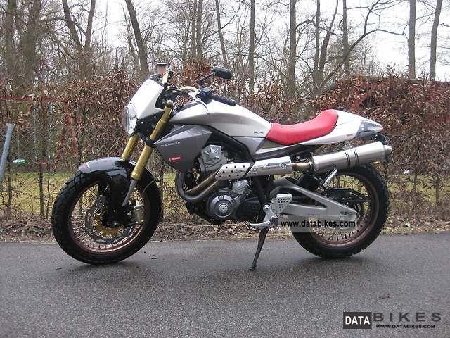 2009 Derbi  Mulhacen 659, rear conversion, Sports Exhaust Motorcycle Enduro/Touring Enduro photo