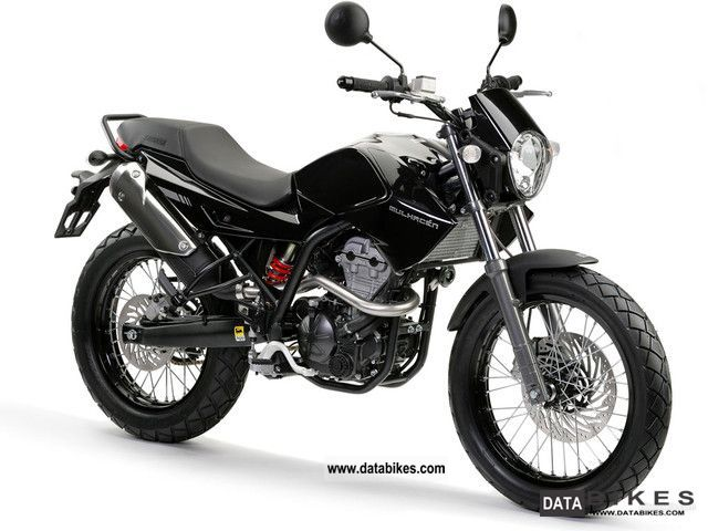2011 Derbi  Mulhacén 125 4-stroke Motorcycle Motorcycle photo