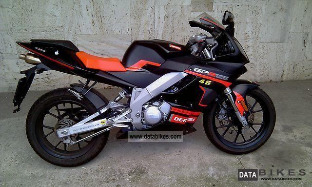 2008 Derbi  GPR Racing 125 Sport come nuova Motorcycle Sports/Super Sports Bike photo
