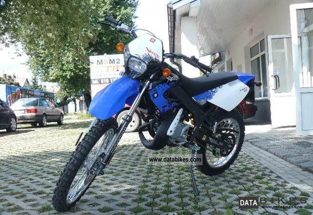 2009 Derbi  Senda 50 DT never ENDUROCROSS crispy Motorcycle Enduro/Touring Enduro photo