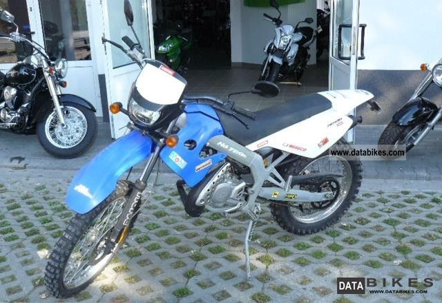 2008 Derbi  Senda 50 DT never ENDUROCROSS crispy Motorcycle Rally/Cross photo