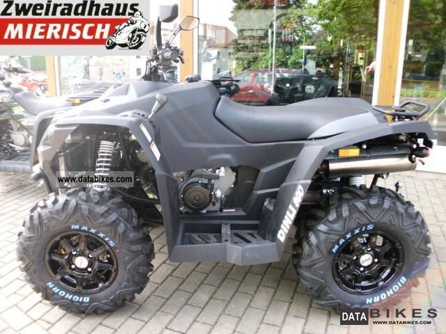 2011 Dinli  Centhor 800 Evo LOF Motorcycle Quad photo