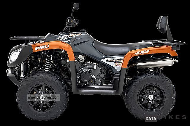 2011 Dinli  Centhor 700 4x4 only 7679, - Motorcycle Quad photo