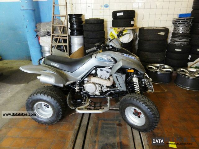 Dinli  * 901-450 * erst5000km 2008 Quad photo