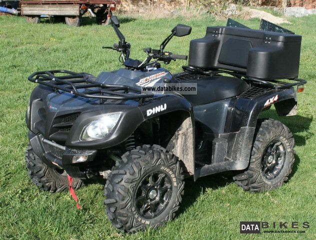 2011 Dinli  Centhor Lof 700 4x4 with winch Motorcycle Quad photo
