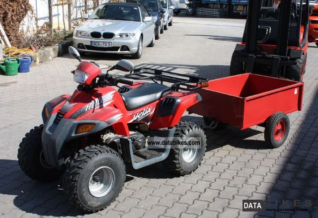 2003 Dinli  Helix DL 603 quad with trailer Motorcycle Quad photo