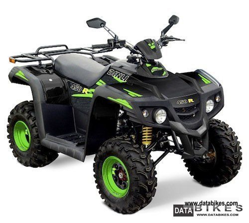 2011 Dinli  450 R THE PRICE SENSATION! Motorcycle Quad photo