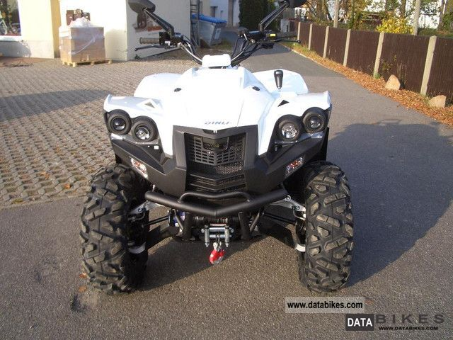 2011 Dinli  Centhor 800 EVO LOF approval and snow shield Motorcycle Quad photo