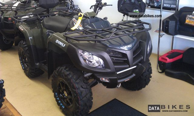 2011 Dinli  PRO Centhor LOF 700 4x4 Motorcycle Quad photo