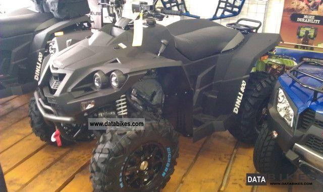 2011 Dinli  Evolution 800 LOF aluminum winch 4x4 Motorcycle Quad photo