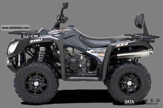 2011 Dinli  PRO Centhor 700 (LOF) Motorcycle Quad photo