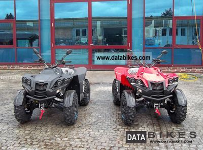 2011 Dinli  800-SPREIS EVO-AKTION with optional snow plow Motorcycle Quad photo