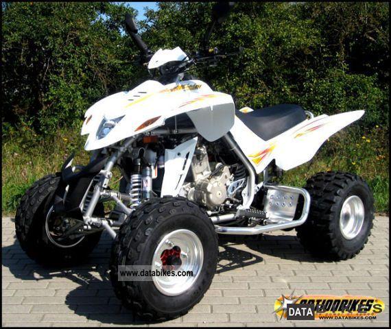 2011 Dinli  Quad DINLI 450 aluminum rims - Nitrogen Shock Motorcycle Quad photo