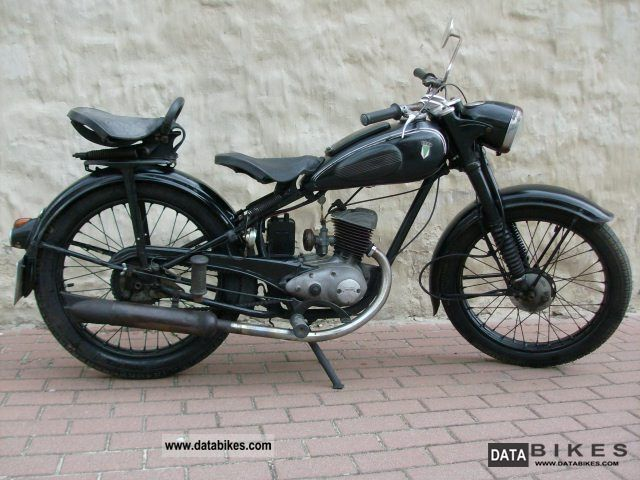 DKW  RT 125W everyday classic car 1951 Vintage, Classic and Old Bikes photo