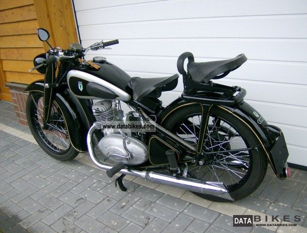 DKW  NZ 250 1938 Vintage, Classic and Old Bikes photo