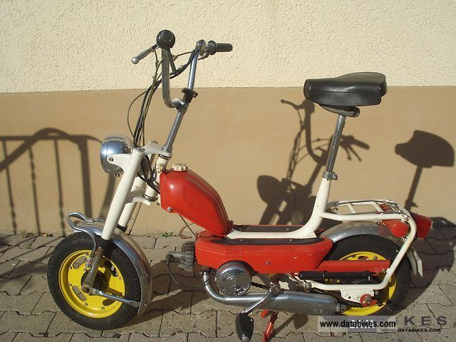 1971 DKW  508 Motorcycle Motor-assisted Bicycle/Small Moped photo