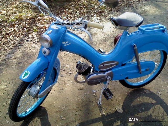 1958 DKW  Bumblebee Motorcycle Motor-assisted Bicycle/Small Moped photo