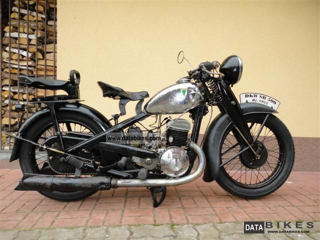DKW  SB 500 short version 1934 Vintage, Classic and Old Bikes photo
