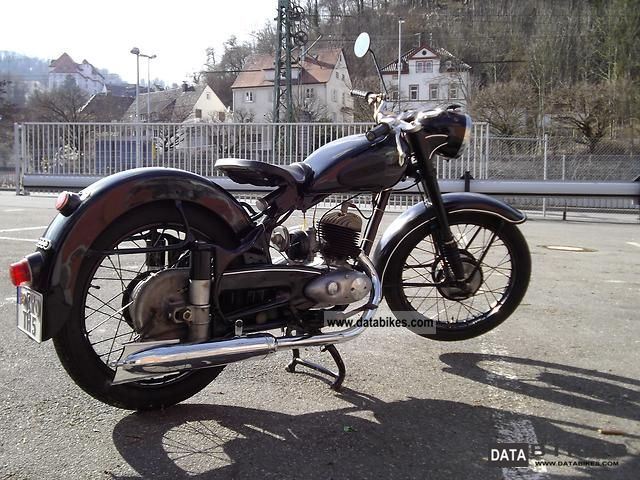 DKW  RT 200 H 1953 Vintage, Classic and Old Bikes photo