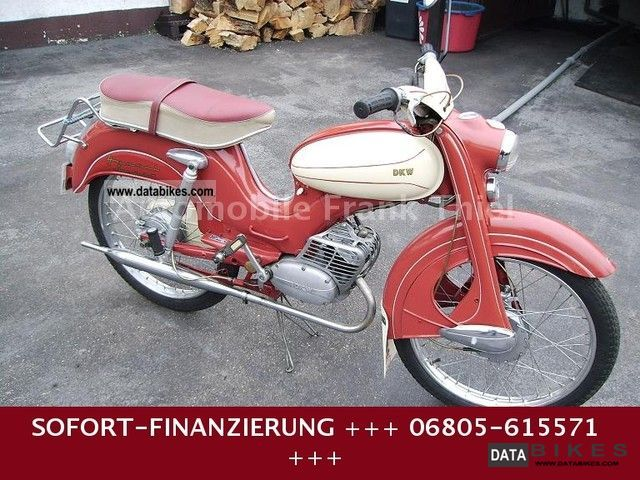 DKW  HUMMEL SUPER + + + + 1.HAND 1958 Vintage, Classic and Old Bikes photo