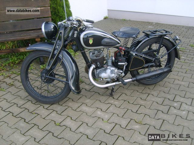 DKW  SB 250 classic cars 1938 Vintage, Classic and Old Bikes photo
