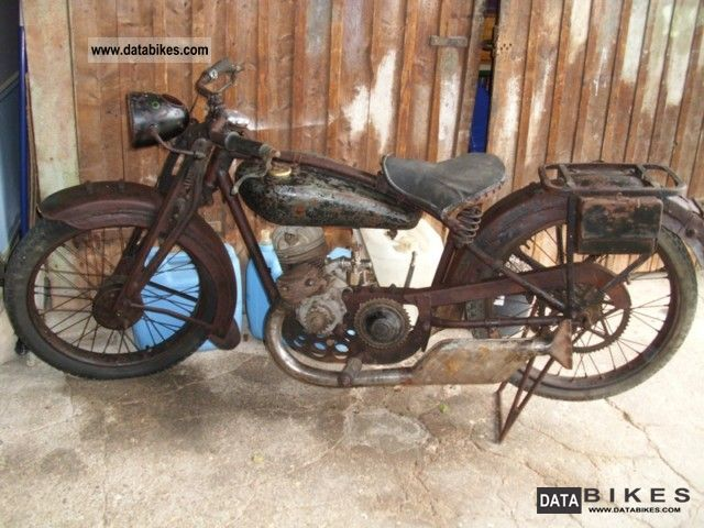 DKW  SCHÜTTOFF L 200 - 200 SPECIAL 1930 Vintage, Classic and Old Bikes photo