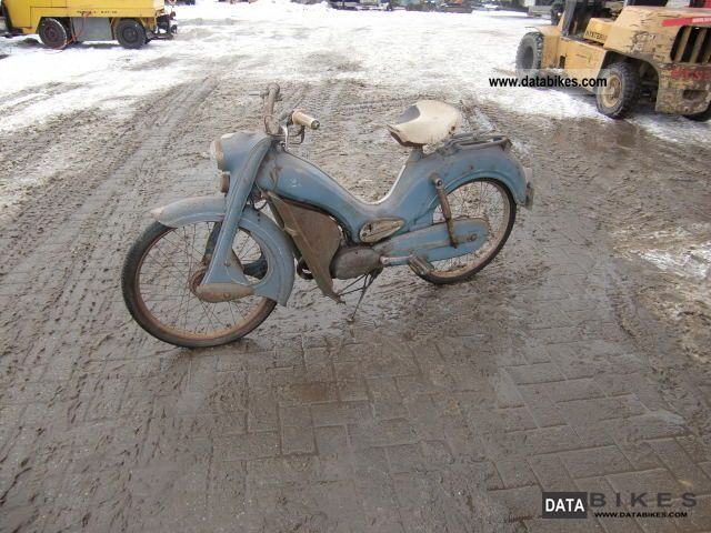 DKW  Bumblebee 1960 Vintage, Classic and Old Bikes photo