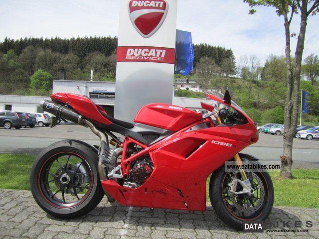 2008 Ducati  1098 Motorcycle Sports/Super Sports Bike photo