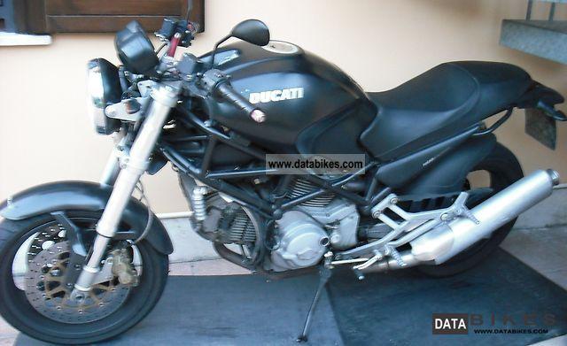 2002 Ducati  Moster dark 750 Motorcycle Motorcycle photo