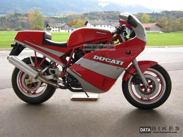1990 Ducati  750 SPORT Motorcycle Sports/Super Sports Bike photo