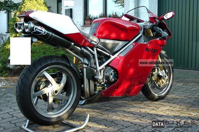 2002 Ducati  748R Motorcycle Sports/Super Sports Bike photo