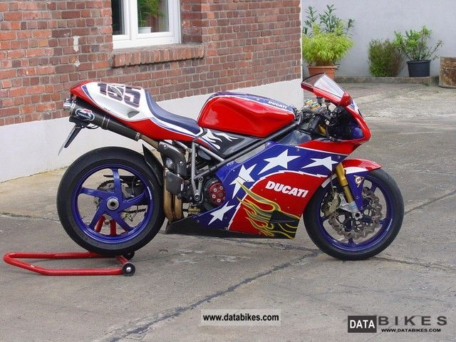 2003 Ducati  Ben Bostrom Replica 998S Motorcycle Sports/Super Sports Bike photo
