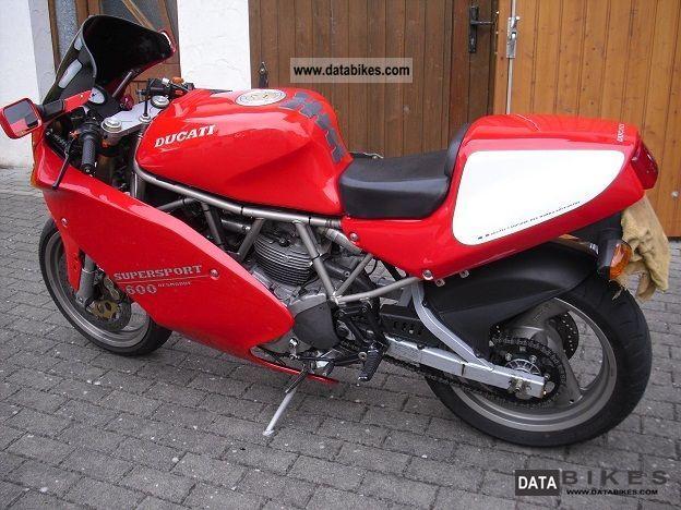 1995 Ducati  600 ss Motorcycle Sports/Super Sports Bike photo