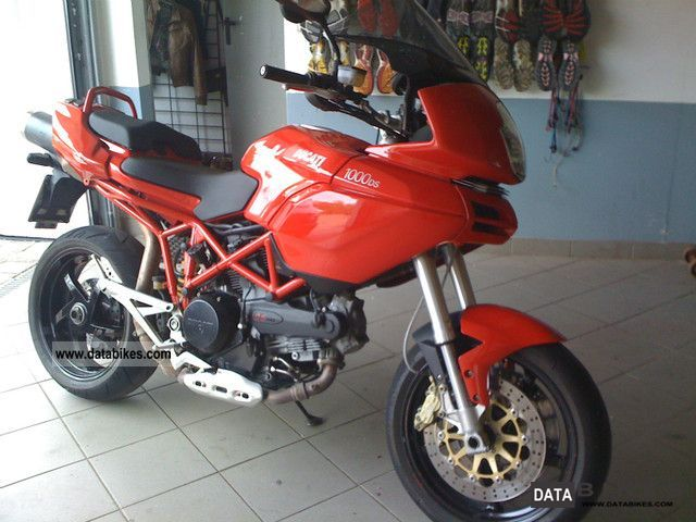 2003 Ducati  Multistrada 1000 DS - Engine 4000 km Motorcycle Sport Touring Motorcycles photo