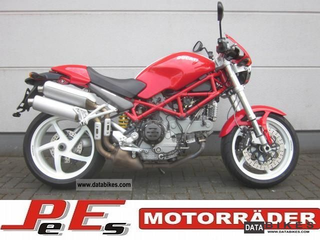 2006 Ducati  Monster S2R 1000 * checkbook * 1 Hand! * Motorcycle Naked Bike photo