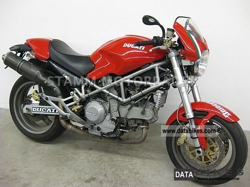 2004 Ducati  Monster 1000 i.e. * Carbon 1.Hnd Termingoni Motorcycle Motorcycle photo