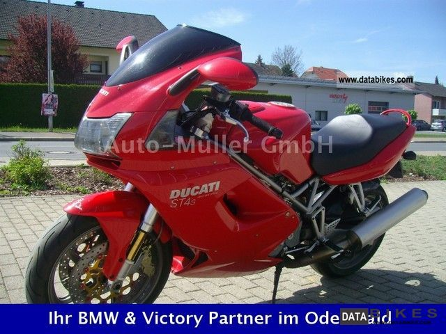 2004 Ducati  ST4 S (1.99% FINANCING FOR POSSIBLE) Motorcycle Sport Touring Motorcycles photo