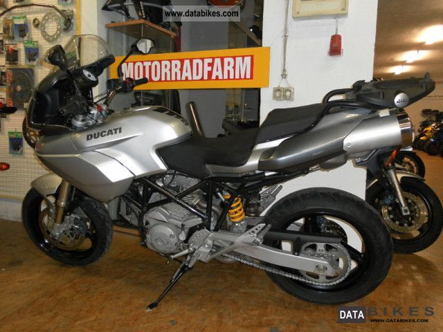 2007 Ducati  I.e. 620 Multistrada with top case from 2007. Motorcycle Sport Touring Motorcycles photo