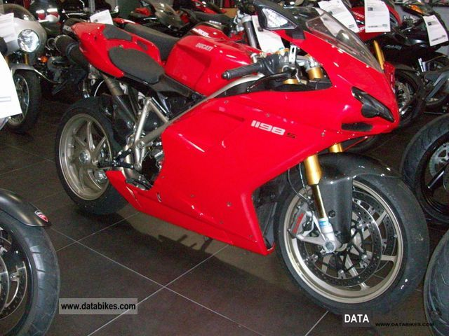2009 Ducati  1198S Motorcycle Sports/Super Sports Bike photo