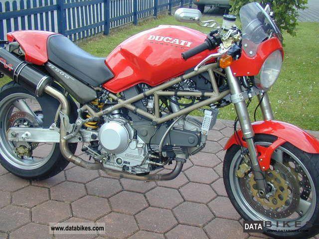 1998 Ducati  Monster 900 Motorcycle Motorcycle photo