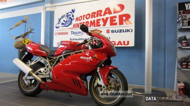 Ducati  750 SS Carenata 2001 Sports/Super Sports Bike photo