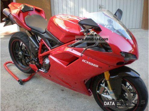 2010 Ducati  1098 s new. Termignoni. 4000 Km Motorcycle Sports/Super Sports Bike photo