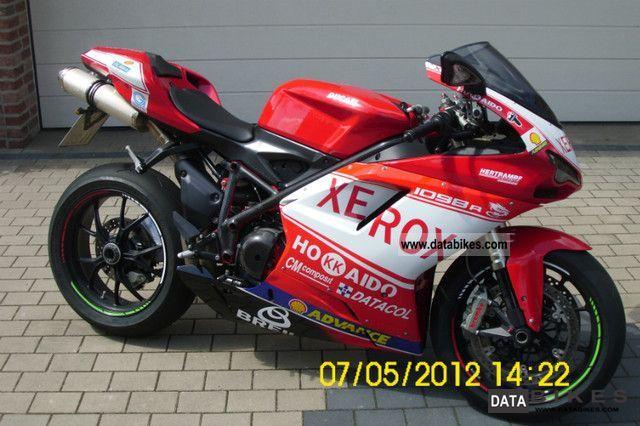 2007 Ducati  Xerox 1098 Motorcycle Sports/Super Sports Bike photo