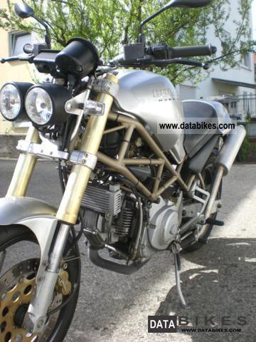 1996 Ducati  Monster Motorcycle Naked Bike photo