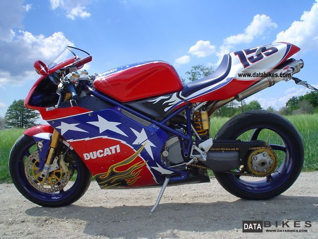 2002 Ducati  998 S Ben Bostrom # 29 of 155 Motorcycle Sports/Super Sports Bike photo