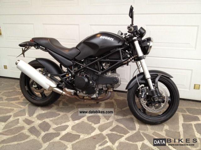 2007 Ducati  Monster 695 Dark 5944 km only TÜV / Au to 05.2014 Motorcycle Naked Bike photo
