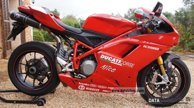 2007 Ducati  1098 Termigioni including exhaust Motorcycle Sports/Super Sports Bike photo