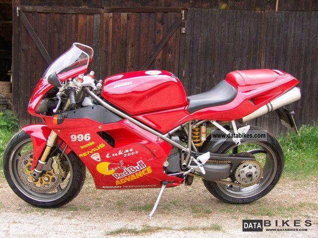 2000 Ducati Mon 996 H2 Gdp
