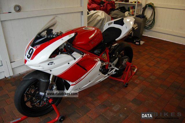 2009 Ducati  848 Racing Motorcycle Racing photo
