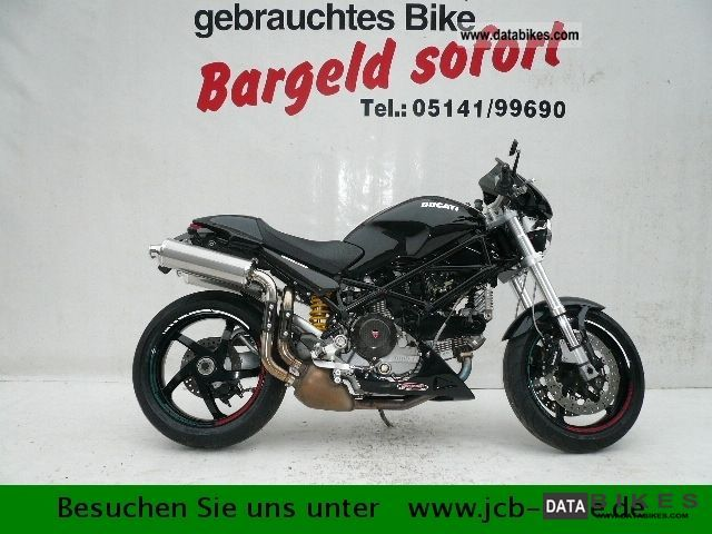 2007 Ducati  Monster S2R 1000 Monster 1000 Motorcycle Motorcycle photo